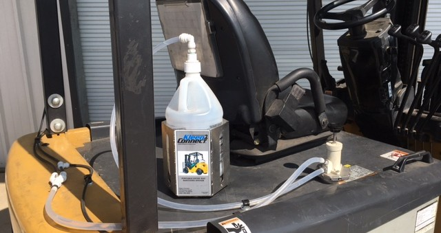 Forklift Entryway Sanitizing Systems Case Studies